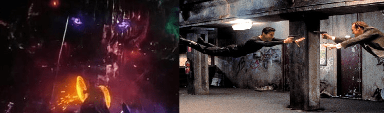 Due Diversi Combattimenti - Scena films- Doctor Strange vs Matrix