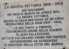 In-memoria-del-Soggiorno-Regina-Vittoria-a-Firenze-lastra-in-marmo