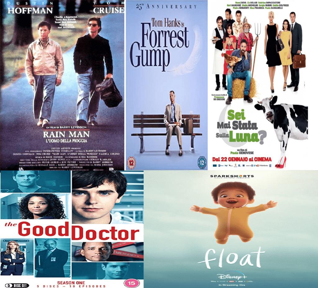Cinque pellicole che insegnano a prendersi cura in modo creativo dell'Autismo