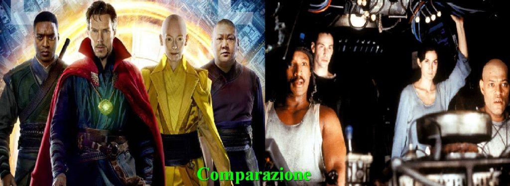 Doctor Strange vs Matrix - Scene dei film