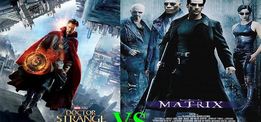 Doctor Strange comparato con Matrix