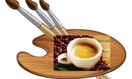 Dipingere con il caffè è un'-arte antica che non passa mai di moda