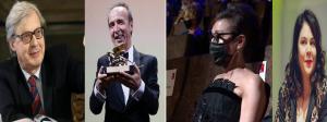 Festival di Venezia 2021 in pillole-Tutti contro Benigni per le lodi alla moglie Braschi da Sgarbi alla Burgia